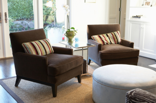 Picture of upholstery cleaning